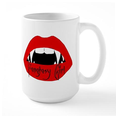 Fangtasy Girl Large Mug