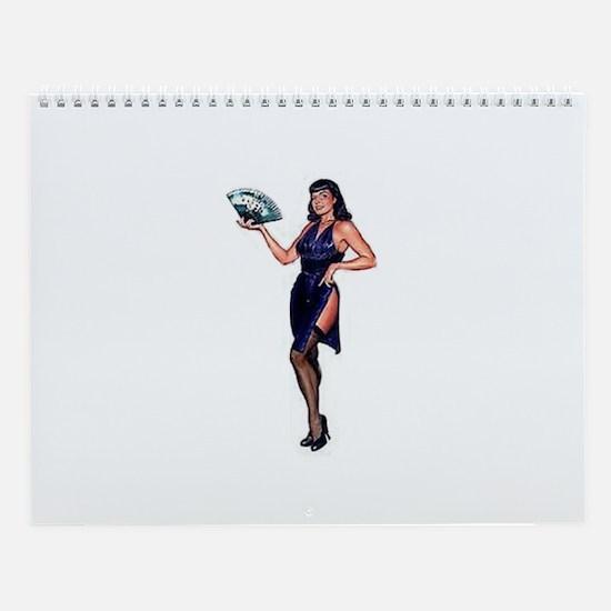 Cute Pin up Wall Calendar