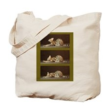 African Serval Tote Bag