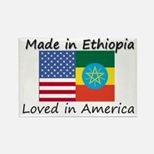 Made in Ethiopia Rectangle Magnet