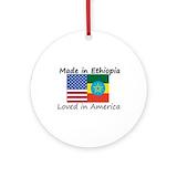 Ethiopian Round Ornaments