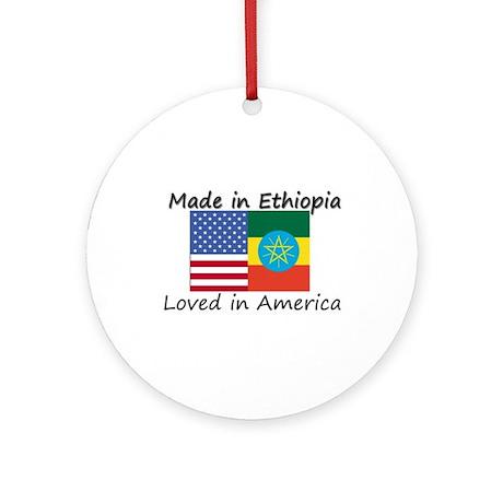 Made in Ethiopia Ornament (Round)