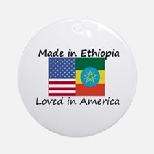 Made in Ethiopia Ornament (Round)