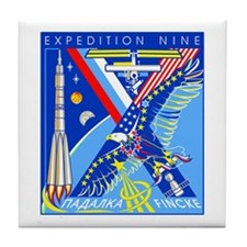 Expedition 9 Tile Coaster