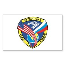 Expedition 8 Rectangle Decal