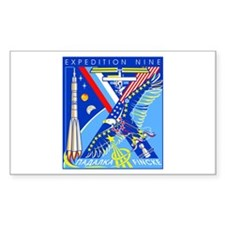 Expedition 9 Rectangle Decal
