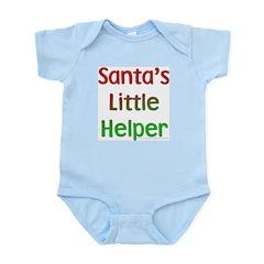 Santa's Little Helper Infant Creeper