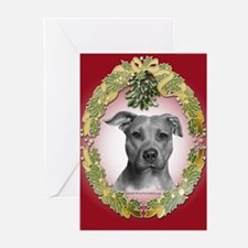 American Pit Bull Terrier Greeting Cards (Pk of 20