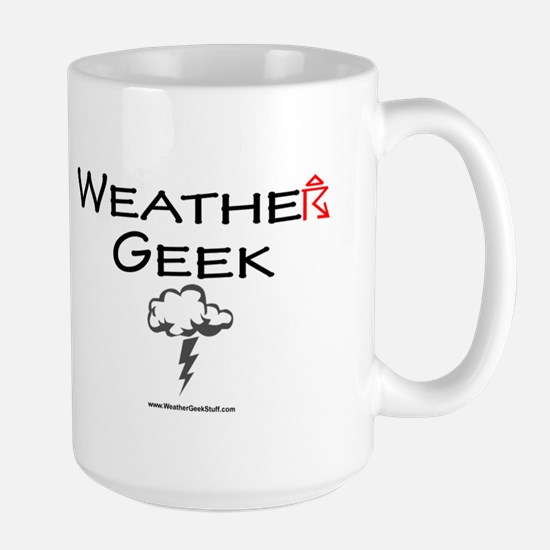 Weather Geek Large Mug