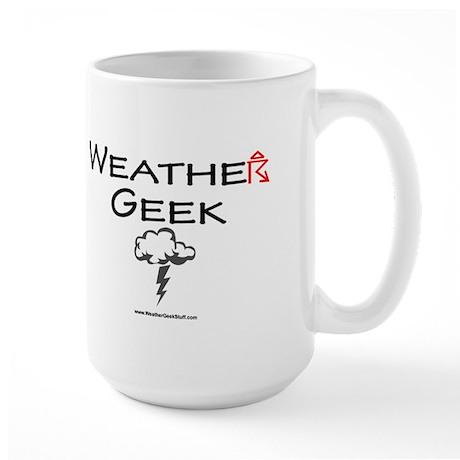 Weather Geek Large Mug