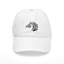 Swirl Horse Baseball Cap