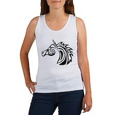 Swirl Horse Women's Tank Top
