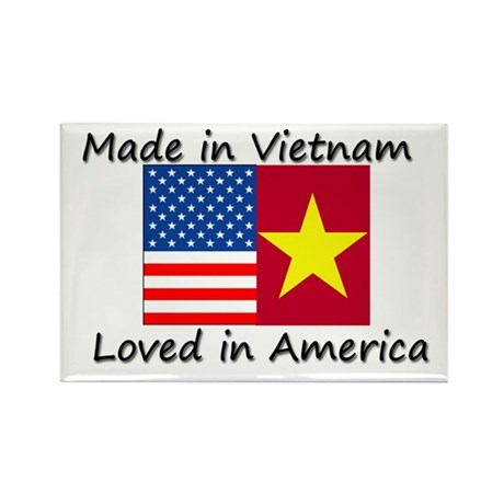 Made in Vietnam Rectangle Magnet