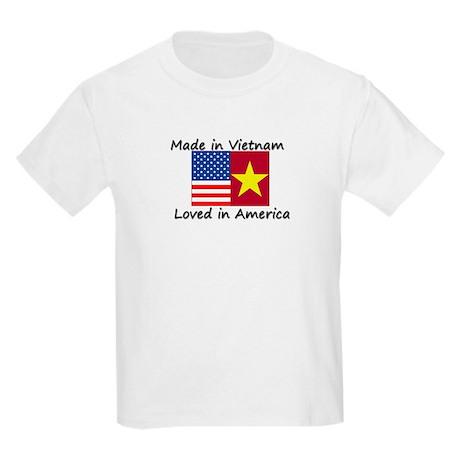 Made in Vietnam Kids Light T-Shirt