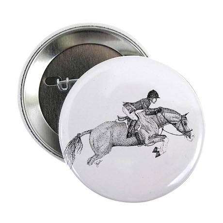 "Hunter Pony Art 2.25"" Button (100 pack)"