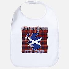 Not Scottish It's Crap #4 Bib