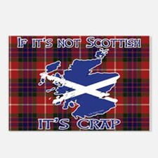 Not Scottish It's Crap #4 Postcards (Package of 8)