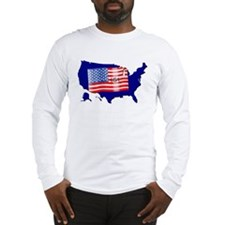 The Stars and Stripes! Long Sleeve T-Shirt