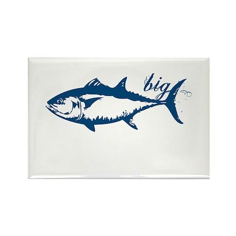 Big Tuna Rectangle Magnet