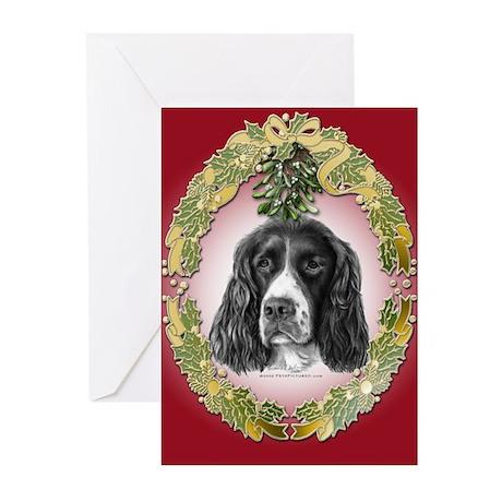 English Springer Spaniel Christmas Cards - 20 pk