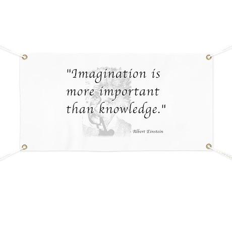 Importance of Imagination Banner