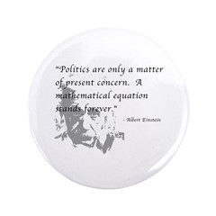 "Math vs. Politics 3.5"" Button"