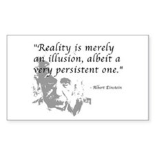 Reality is Illusion Rectangle Decal