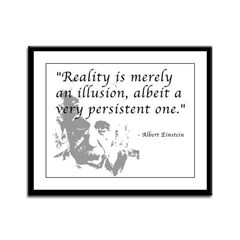 Reality is Illusion Framed Panel Print