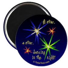 """Christmas Stars 2.25"""" Magnet (10 pack)"""
