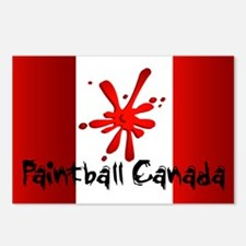 Paintball Canada Postcards (Package of 8)