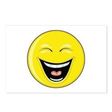 "Smiley Face - ""LOL"" Laughing Postcards (Package of"