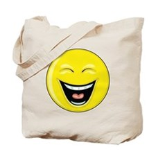 "Smiley Face - ""LOL"" Laughing Tote Bag"