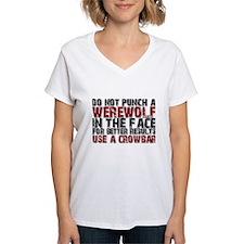 Do Not Punch a Werewolf Shirt