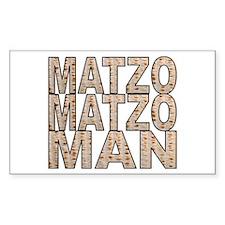 Matzo Matzo Man Rectangle Decal