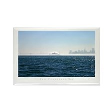 fog city, SF photography Rectangle Magnet