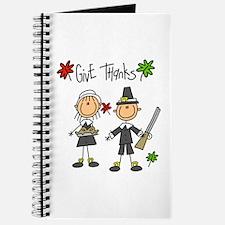 Pilgrims Thanksgiving Journal