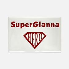 Super Hero Gianna Rectangle Magnet