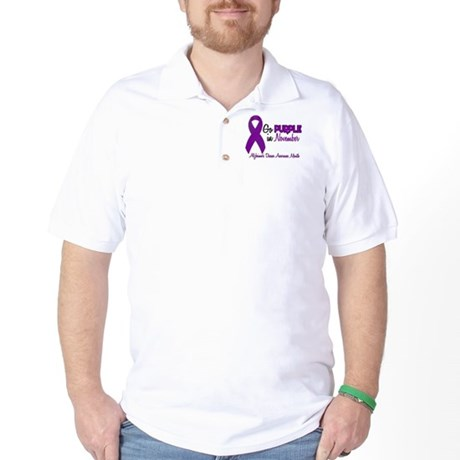 Alzheimers Awareness Month 1.2 Golf Shirt