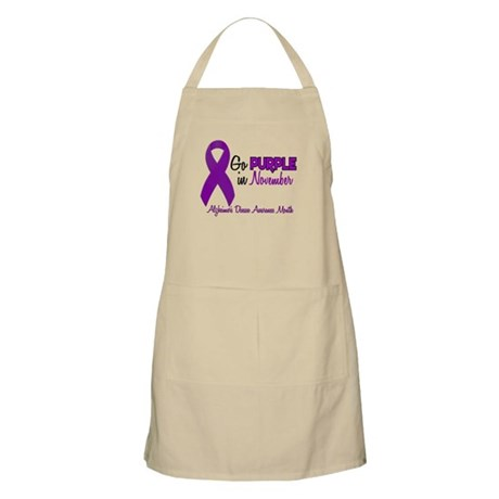 Alzheimers Awareness Month 1.2 BBQ Apron