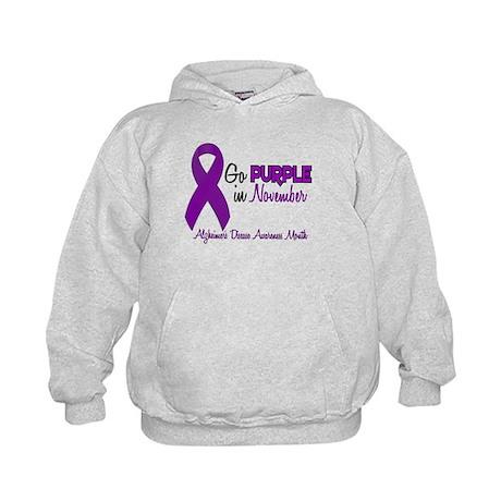 Alzheimers Awareness Month 1.2 Kids Hoodie