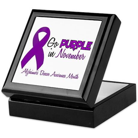 Alzheimers Awareness Month 1.2 Keepsake Box