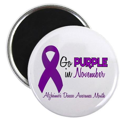 "Alzheimers Awareness Month 1.2 2.25"" Magnet (10 pa"