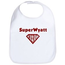 Super Hero Wyatt Bib
