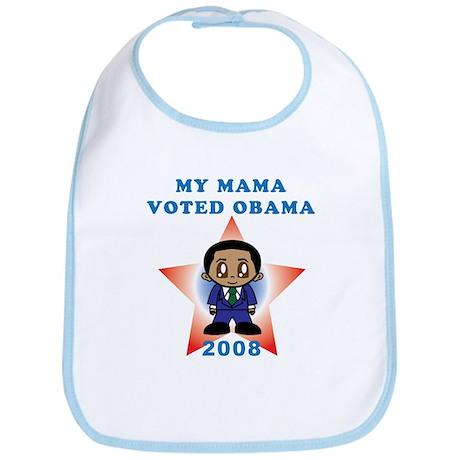 My Mama Voted Obama Bib
