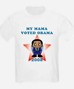 My Mama Voted Obama T-Shirt