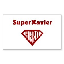 Super Hero Xavier Rectangle Decal