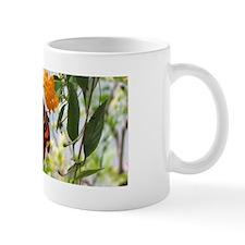 Orange & Black Butterfly Mug