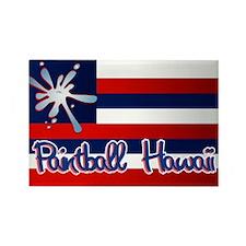 Paintball Hawaii Rectangle Magnet