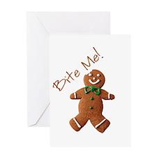 Cute Cookies Greeting Card