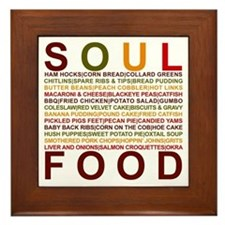 Soul Food II Framed Tile